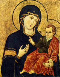 La Madonna del Popolo, XIII sec. Roma, Santa Maria del Popolo