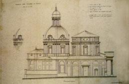 Chiesa di S.Andrea e Santuario dopo intervento F. Juvarra per altare maggiore